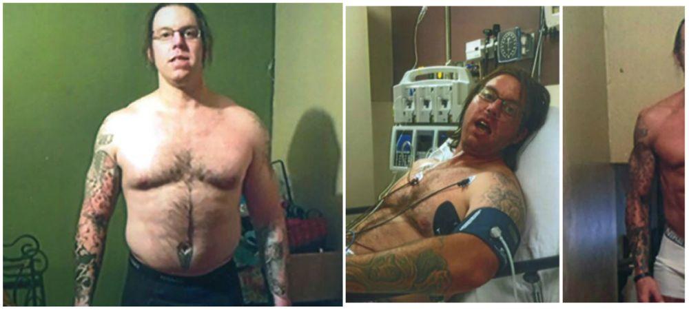 A fost arestat de 30 de ori si a ajuns la spital de 40 de ori din cauza consumului de alcool! Cum arata dupa ce s-a apucat de sala