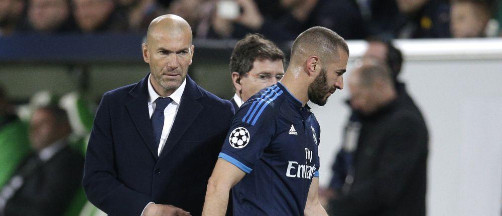 Dialogul lui Zidane cu Benzema dupa ce atacantul a aflat ca e OUT DE LA EURO