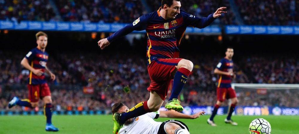 SOC pe Camp Nou, le fuge pamantul de sub picioare catalanilor: Barcelona 1-2 Valencia! Atletico a egalat-o in clasament, Real e la -1! Messi a dat golul 500