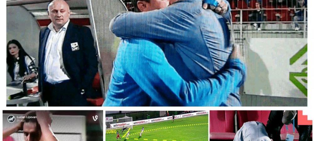 Imagini INCREDIBILE de la meciul care a decis titlul. Ce a facut Sumudica pe banca si cum a reactionat Chipciu dupa ratare