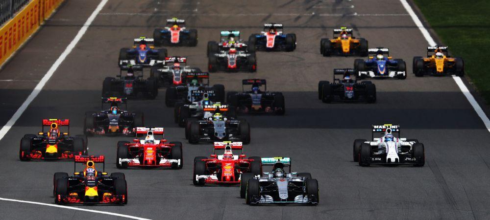 FORMULA 1: Hattrick Nico Rosberg! Victorie si in China, trei din trei in 2016! Incidente la start!