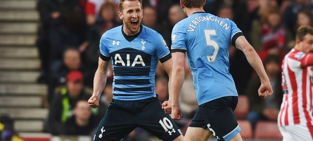 "Tottenham crede intr-o minune! Harry ""HurriKANE"" a lovit din nou, Stoke a fost devastata pe teren propriu. Final de foc in Premier League: Leicester are un program infernal"