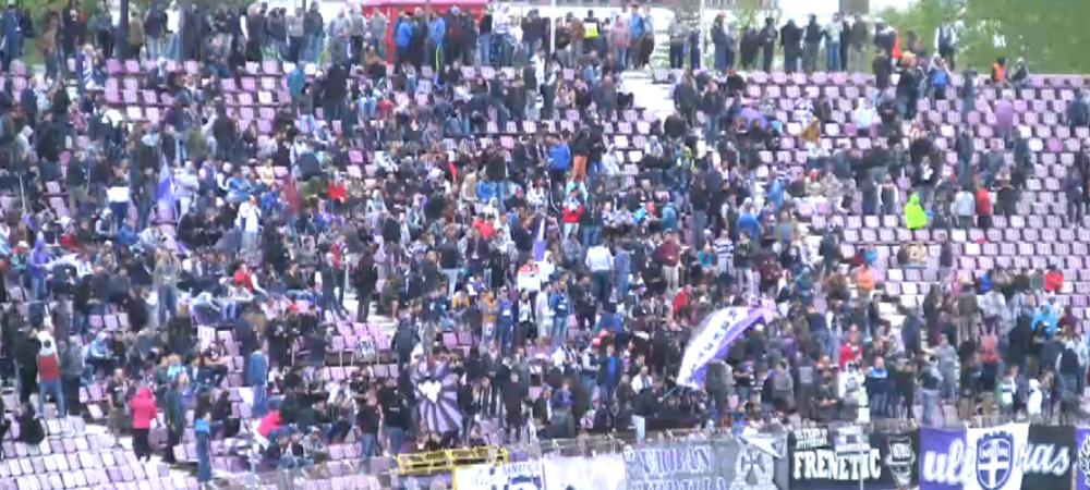 Atmosfera SENZATIONALA in Timisoara la meciul ADEVARATEI Poli! Ce au facut suporterii la derby-ul cu Hunedoara