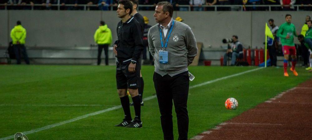 """""""Reghecampf ramane si din vara. E acelasi antrenor dar nu i-a mai avut pe Chiriches, pe Tatarusanu..."""" Antrenorul Stelei, sustinut in """"cazul Iordanescu"""""""