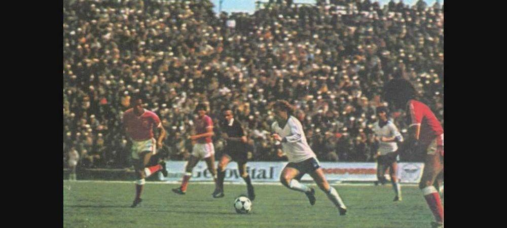 Astazi se implinesc 33 de ani de la Craiova - Benfica. Prima echipa care a jucat o semifinala europeana si celebra bara indoita care ne-a tinut departe de finala