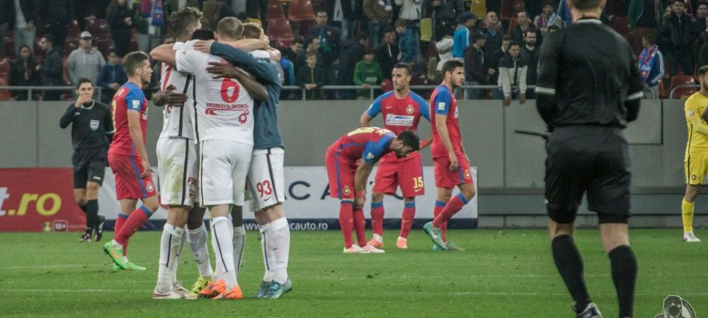 Derby-ul de la nivelul gazonului   Cele mai tari poze de la Steaua 2-2 Dinamo! Ce a patit un dinamovist la finalul partidei