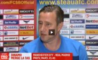 VIDEO: Reghe, cu zambetul pe fata, despre cat de rau ii pare ca Dinamo nu are licenta de Europa pentru sezonul viitor :)