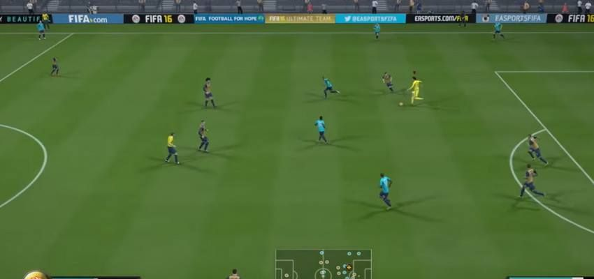 Tantalaul si gogomanul s-au intalnit la FIFA 16 :) Ce s-a intamplat dupa ce un jucator a vrut sa dea gol cu portarul