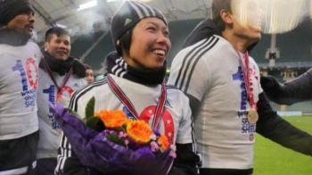 Moment istoric: prima femeie care cucereste un trofeu cu o echipa MASCULINA. In ce campionat antreneaza