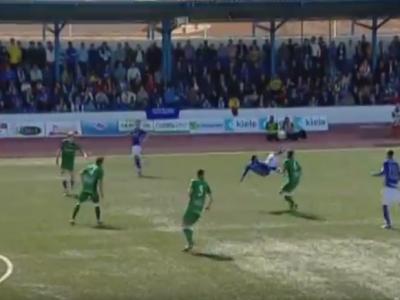 Formidabil! Asta e cel mai tare gol din weekend: foarfeca impresionanta de la 25 de metri! VIDEO