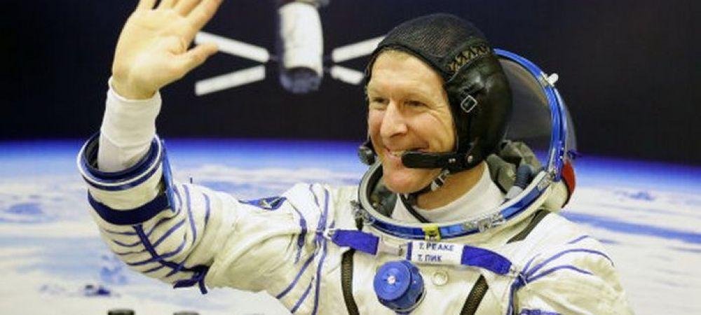 """Gestul incredibil al unui cosmonaut de pe Statia Spatiala. Ce a facut britanicul Tim Peake in spatiu: """"Sunt singurul om care se poate lauda cu asta"""""""