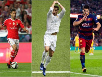 Cu 8 goluri in doua meciuri, Suarez l-a depasit si s-a distantat de Ronaldo in clasamentul pentru Gheata de Aur. Cum arata topul inaintea finalului din marile campionate