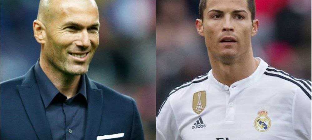 """Serios, chiar o data am facut asta!"" Ronaldo nu l-a crezut pe Zidane cand i-a zis asta"