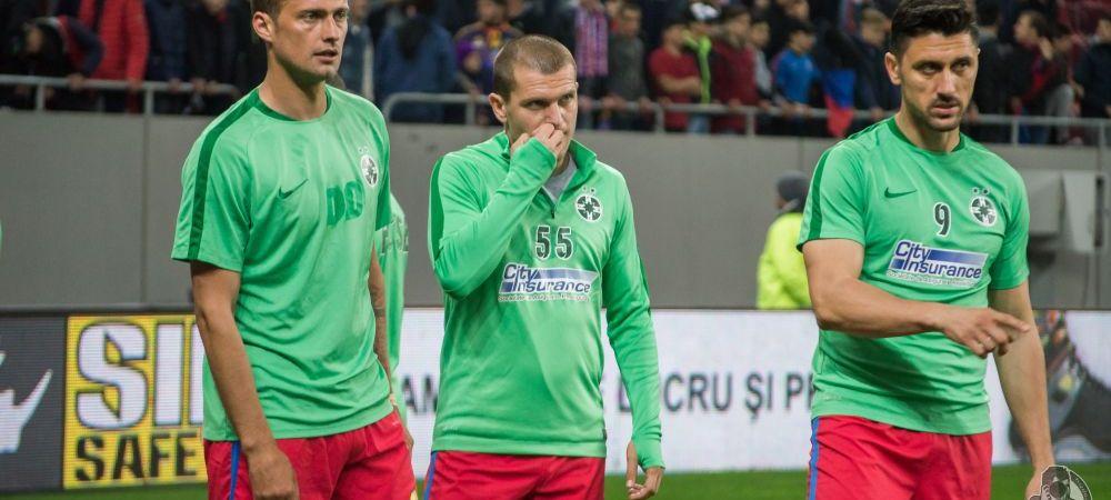 Despartire complet neasteptata la Steaua! Un titular a fost trecut pe lista de plecari