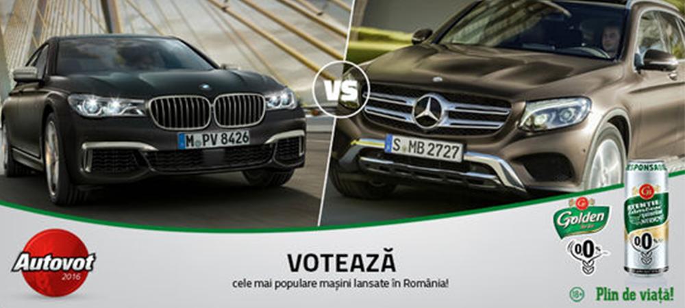 BMW vs. Mercedes astazi in Autovot: Seria 7 încearca sa elimine GLC in competitia popularitatii
