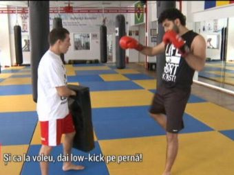 VIDEO | Ahmed din Militari se pregateste pentru meciurile lui Atletico Textila cu un luptator de kickboxing :)