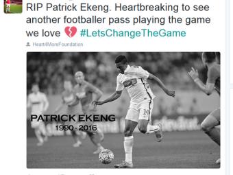 Lumea fotbalului este SOCATA de moartea lui Ekeng: Mesaje de la Eto'o, Martial, Bellerin, Atletico Madrid sau Cafu!