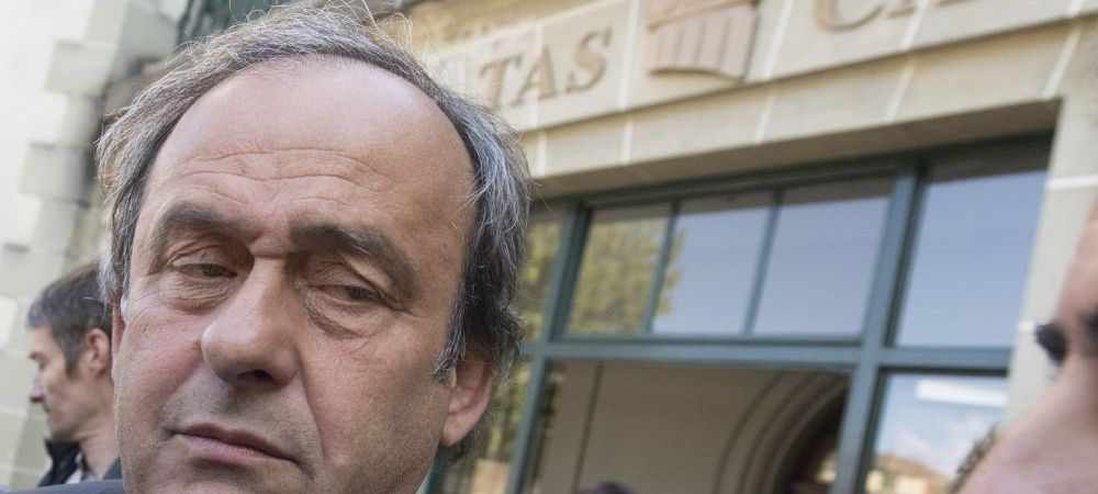 Inca o lovitura grea primita de Platini! A anuntat ca isi da demisia de la conducerea UEFA, dupa ce TAS a decis sa fie suspendat 4 ani din fotbal