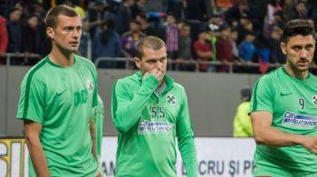 """Ce meci a vazut Reghe? :) """"Bourceanu a luat rosu pentru ca lui Balaj i s-a parut ca Gnohere e in coma. A jucat 90 de minute si a dat si gol!"""""""