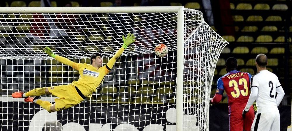 Cum a ajuns regulamentul din ABSURDISTAN al Ligii I sa o faca pe Steaua sa-si piarda portarul care se batea pentru un loc la Euro