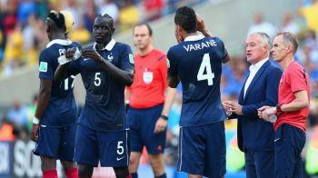 Deschamps a convocat un castigator al Europa League in locul lui Varane si Sakho. Cine ar putea juca in apararea Frantei la meciul cu Romania