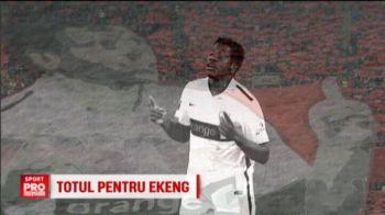 Dinamo ii plateste familiei lui Ekeng TOT contractul jucatorului! Anuntul facut de club