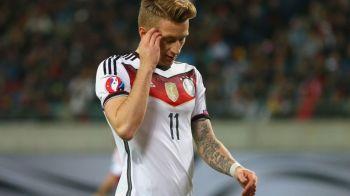 Decizie incredibila a lui Low! Selectionerul Germaniei l-a scos din lotul pentru UEFA Euro 2016 pe Marco Reus chiar de ziua lui