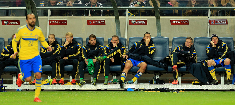 EUROPEDIATactica Suediei: apararea incepe cu Ibrahimovic