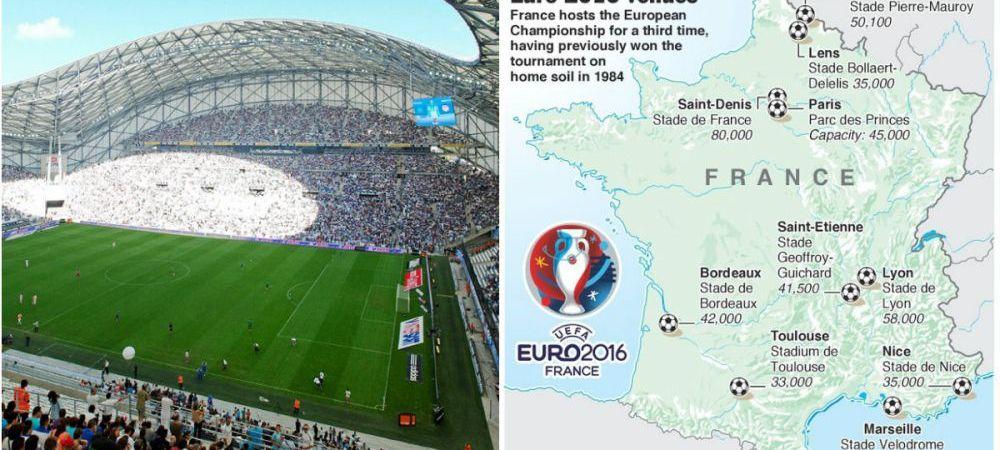FOTO | Cele 10 bijuterii de stadioane pe care se va disputa turneul final. Romania joaca pe Stade de France, Parc des Princes si la Lyon