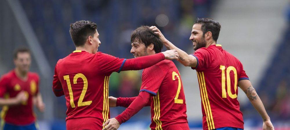 Spectacol total facut de Spania inainte de Euro: 6-1 cu Coreea de Sud! Dubla Nolito si Morata
