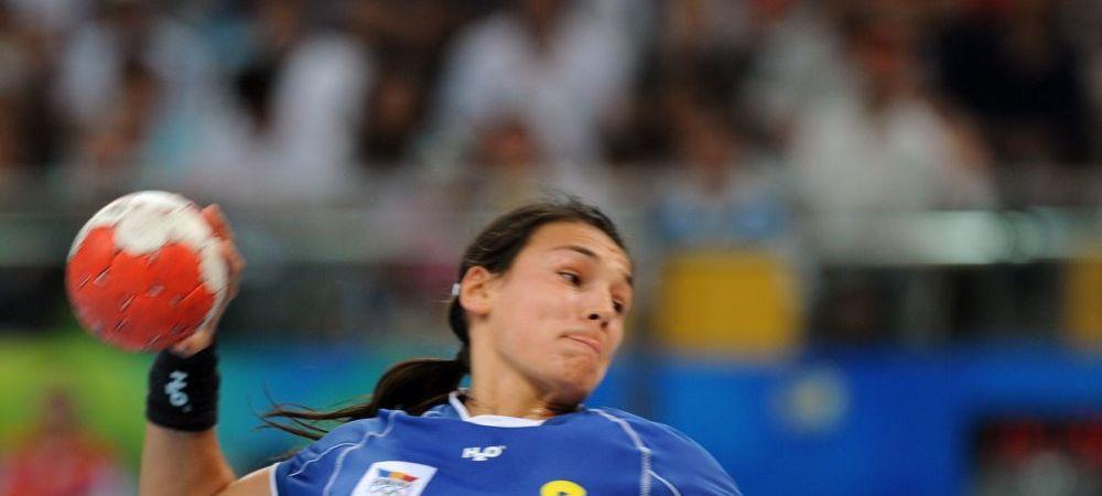 Calificare spectaculoasa pentru nationala Romaniei de handbal feminin la Euro 2016: ROMANIA 34-24 LITUANIA