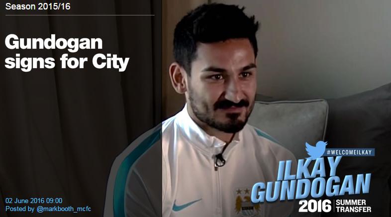 OFICIAL | Primul transfer facut de Manchester City in era Pep Guardiola: Gundogan a semnat pe 4 ani si a fost prezentat