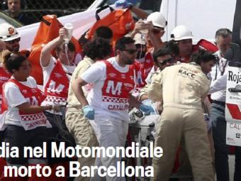 Tragedie pe circuit: Luis Salom a murit dupa ce a cazut de pe motocicleta. Ultimul mesaj pe care si l-a pus pe Twitter, chiar inainte de cursa