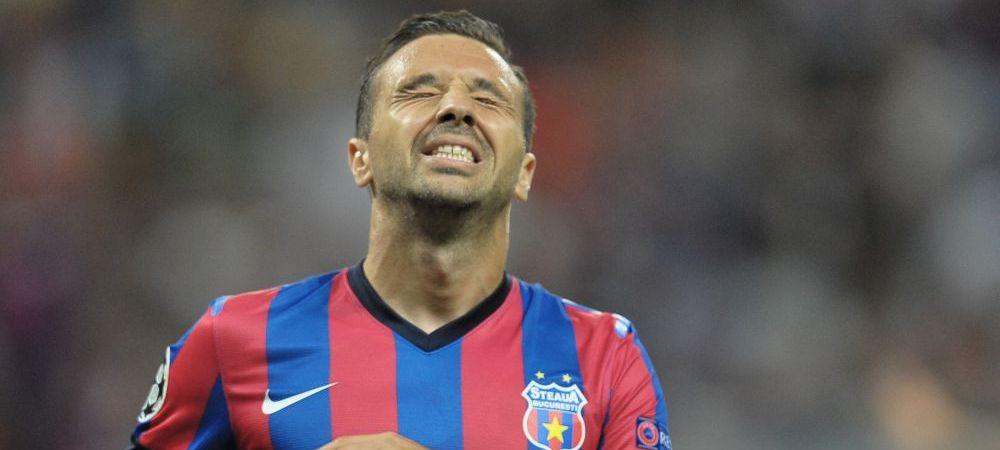 """Steaua ii tranteste usa in nas lui Sanmartean. Becali: """"Nu mai face fata, nu vine inapoi"""". Ce spune patronul despre mijlocasul care spera sa impresioneze si la EURO"""