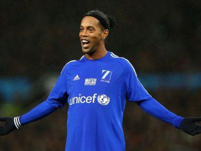 S-a intors GENIALUL Ronaldinho! Ce faza minunata a reusit in ultimul meci caritabil in care a jucat