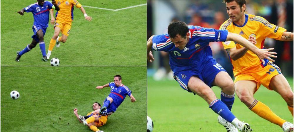 Iti amintesti cum ai trait meciul asta? La fix 8 ani de la ultimul Romania - Franta la un turneu final, cele doua nationale se intalnesc din nou! Cum aratau atunci