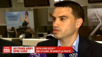"""Secretele din vestiarul arbitrilor romani de la EURO: """"Avem deja playlistul facut, Sebi a pregatit muzica pe care o sa o ascultam in vestiar"""" :)"""