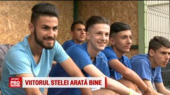 """Steaua l-a gasit pe noul Ronaldo :) Are 15 ani si stie cum sa impresioneze: """"Un jucator care vrea sa fie la Steaua trebuie sa mearga la salon, sa se penseze, sa mearga la coafor"""""""