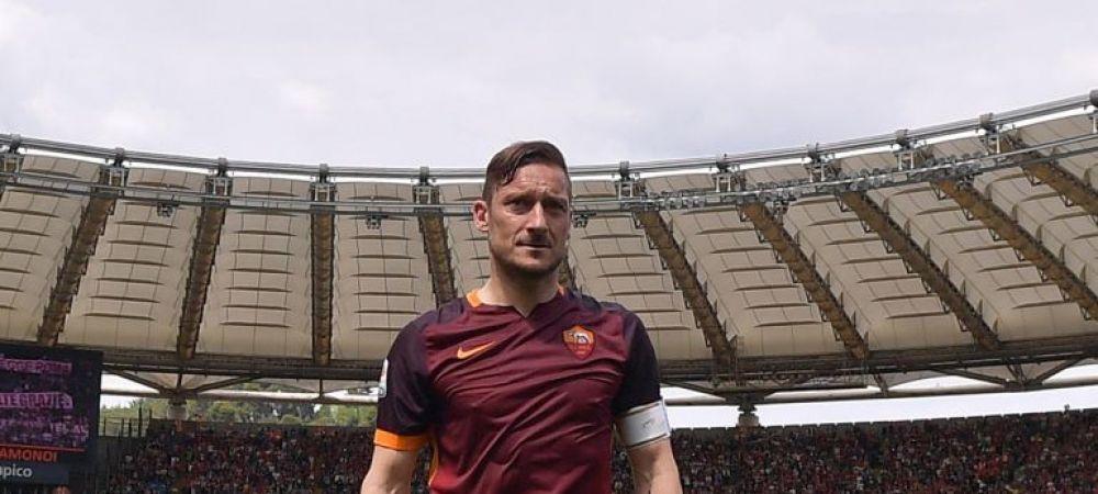 LEGENDA continua! Totti si-a prelungit contractul cu Roma si va juca pana la 40 de ani!
