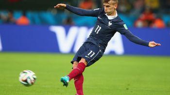 Vedeta nationalei Frantei a semnat cu doar doua zile inaintea meciului cu Romania, transmis vineri, de la 22:00, de ProTV