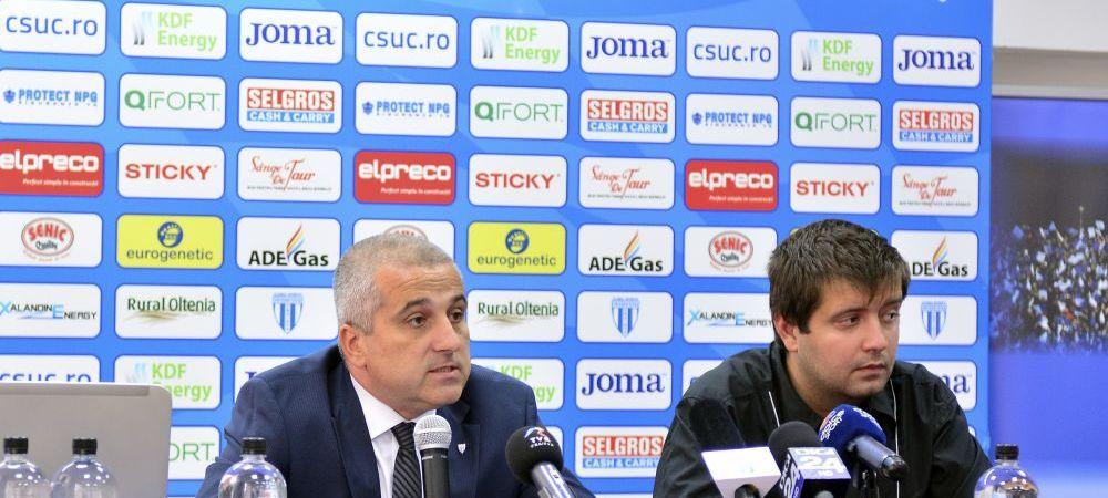EXCLUSIV | Schimbari masive la Craiova: Felix Grigore si-a dat astazi demisia. Marcel Popescu va fi noul presedinte