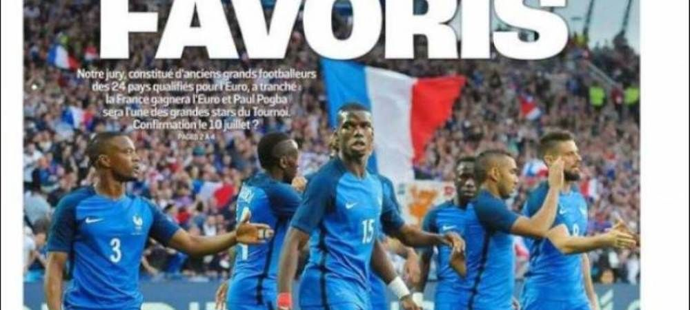 Francezii nu au nicio emotie pentru debutul cu Romania. Ce scrie astazi L'Equipe pe prima pagina