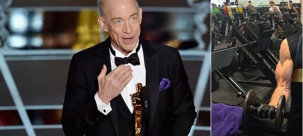 FABULOS! Un actor de Oscar s-a transformat la 61 de ani! Cum arata dupa ce s-a apucat de sala pentru un rol