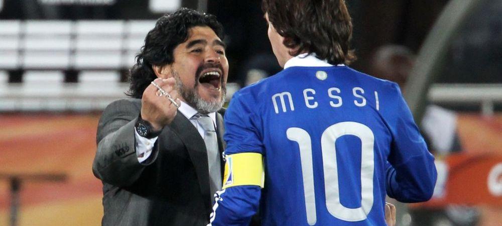 """Afirmatie fara precedent a lui Maradona la adresa lui Messi, intr-o discutie cu Pele: """"N-are personalitate, nu e un lider"""". Diego, surprins in timp ce discuta cu fostul star brazilian"""