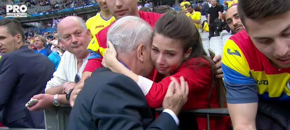 Moment EMOTIONANT pe Stade de France! Iordanescu a fost chemat in tribuna de familia lui. Ce s-a intamplat