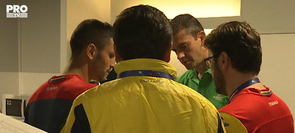 Andone, verificat de Kassai si Collina inainte de meciul cu Franta! A fost bandajat la mana de fata cu arbitrul maghiar