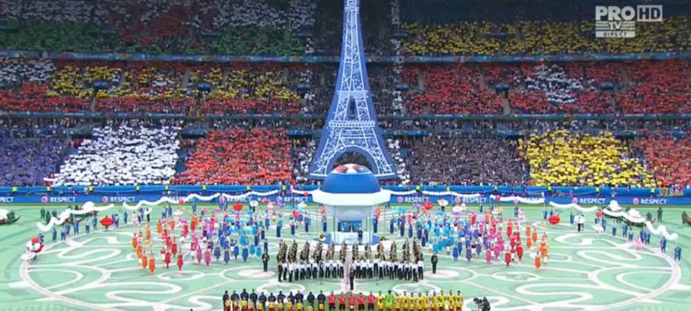 Momente UNICE la Paris: imnul Romaniei, PRIMUL de la Euro! VIDEO: cum s-a auzit in aplauzele a 80 000 de oameni
