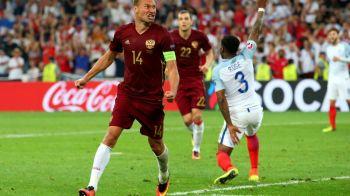 Anglia 1-1 Rusia, vezi rezumatul meciului