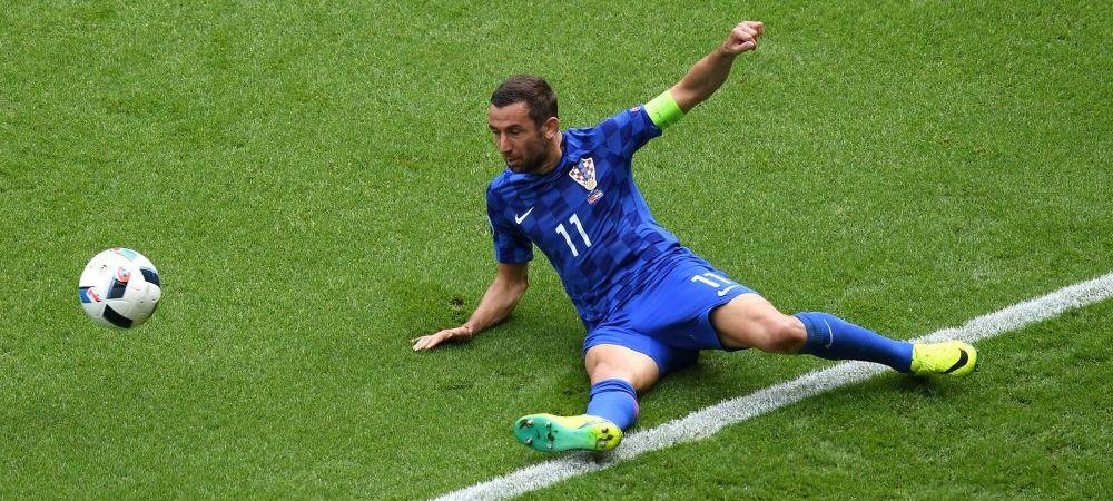Tatal lui Darijo Srna a murit in timpul meciului Croatia - Turcia! Fotbalistul a PLECAT DIN FRANTA de urgenta