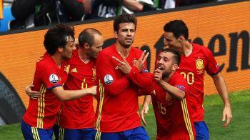 Pique a salvat Spania cu un gol in minutul 86, centrare excelenta a lui Iniesta: SPANIA 1-0 CEHIA!
